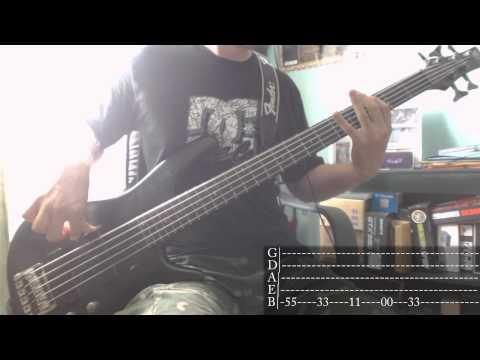 Papa Roach - Last Resort [Bass Cover + Tab]