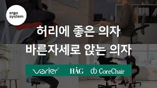 허리에 좋은 의자/바른자세로 앉는 의자 바리에르 &am…