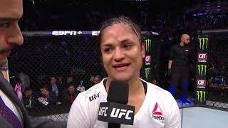 UFC Phoenix: Cynthia Calvillo Octagon Interview