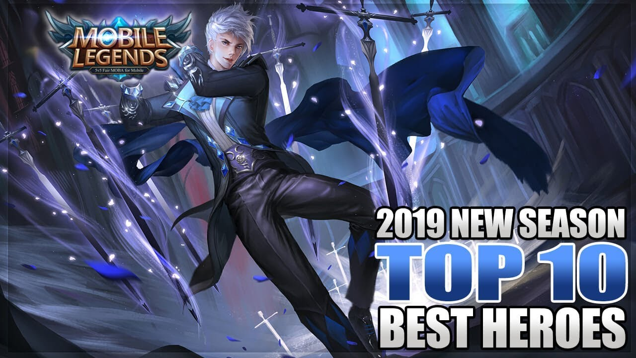 2019 top 10 strongest heroes in mobile legends