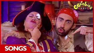 CBeebies-Piraten Swashbuckle Songs, Playlist | 33 Minuten