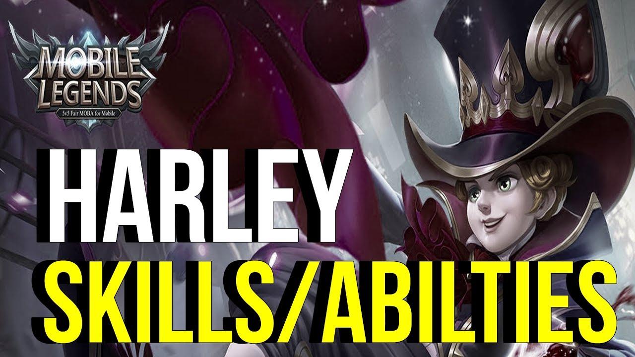 Mago Möbel revelando habilidades de harley nuevo heroe mago mobile legends