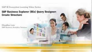 إنشاء هيكل: SAP Business Explorer (بيكس) مصمم الاستعلام 7.0
