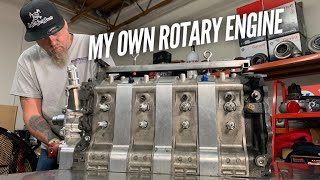 I take the FIRST step to making my own rotary engine parts.