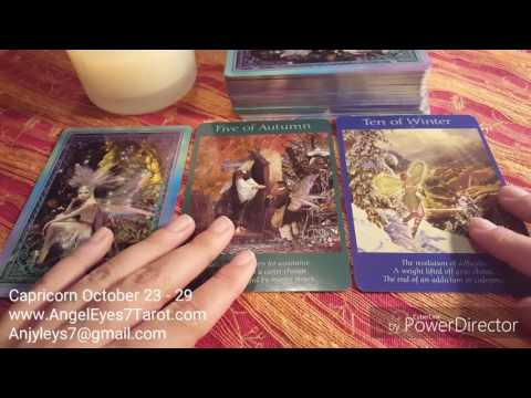 Capricorn Weekly General Reading Oct. 23 -...
