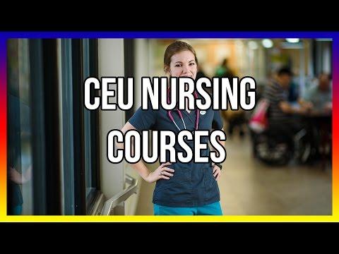 CEU Nursing Courses