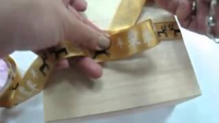 印刷緞帶蝴蝶結打法_正反面蝴蝶結_CR_DIY