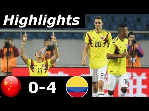 China vs Colombia 0 x 4 (All Goals and Highlights) 14 November 2017 (11/14/2017)- Friendly