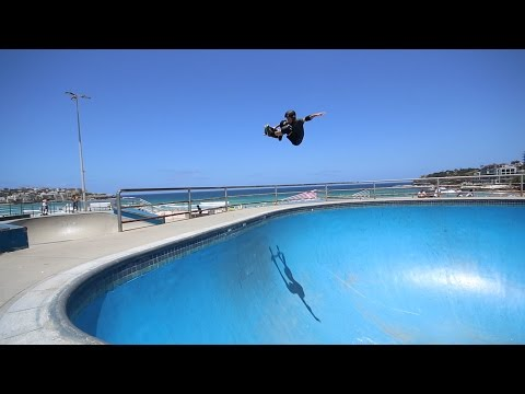 Bondi Bowl Skateboarding with Jed Mckenzie