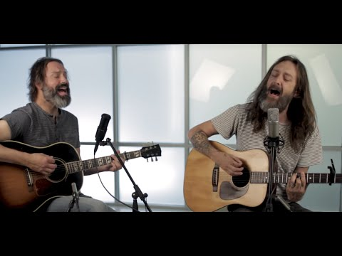 Chris Robinson Brotherhood Acoustic Guitar Session