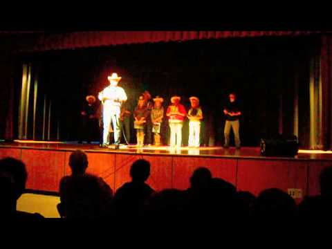 Laurens Central School 2013 Talent Show Country song medley