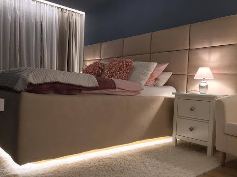 Bett selber bauen, Europaletten, Schlafzimmer Master Bedroom