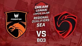TNC Predator vs Cignal Ultra Game 1 (BO3)   Dream League Leipzig Major SEA Qualifiers