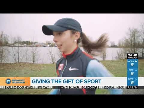 Giving the gift of sport