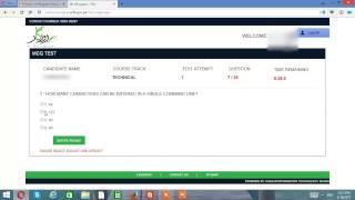 E-Rozgaar punjab online test technical 2017