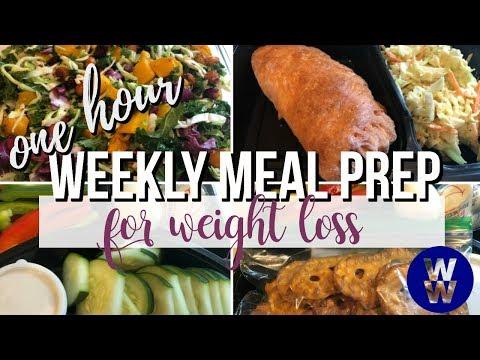 one-hour-weekly-ww-meal-prep- -kale-salad,-turkey-&-cheese-pockets