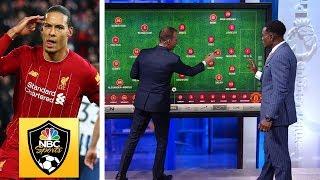 How Liverpool Virgil van Dijk punished Man United  Premier League Tactics Session  NBC Sports