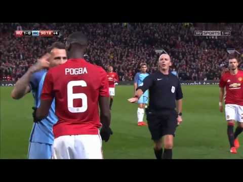 MANCHESTER UNITED- ZLATAN IBRAHIMOVIC FIGHT WITH CABALLERO FULL