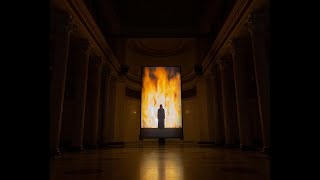Bill Viola's exibition at Pushkin State Museum