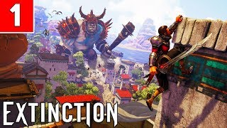 EXTINCTION Gameplay Walkthrough Part 1 No Commentary 1080p HD PC