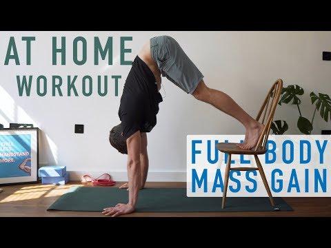bodyweight mass gain workout no equipment  day 5 at