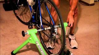kurt kinetic bike instillation demo