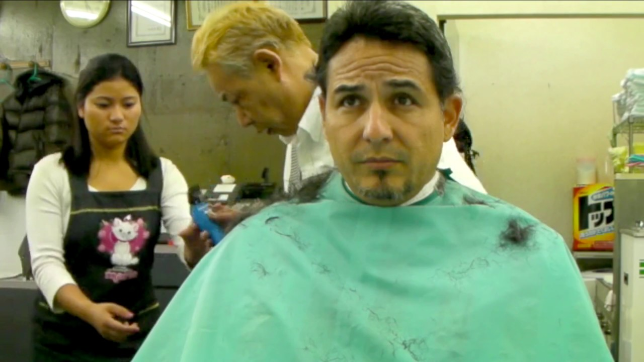My First Japanese Haircut Lost Video Unedited Youtube