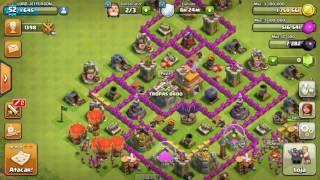 Dicas de tropas de farming cv7 Clash Of Clans