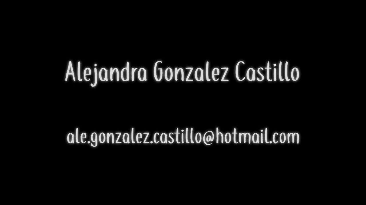 3d and vfx video reel 2020 | alejandra gonzalez castillo