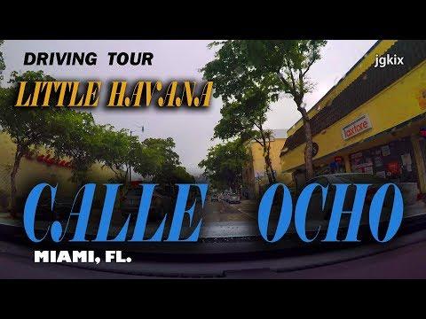 Driving Calle OCHO Miami FL