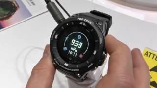 Outdoor-Smartwatch Casio ProTrek WSD-F20 im Hands-On