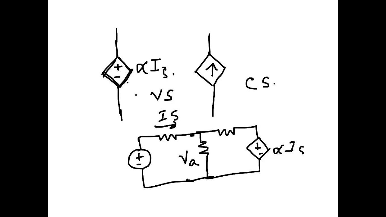 Electrical Circuit Dependent Sources