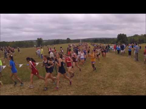 Girls JV Underclasssmen race Oatlands