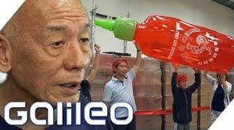 Hype is real! Sriracha-Sauce machte USA-Einwanderer zum Multimillionär   Galileo   ProSieben