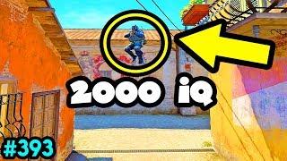 2000 IQ PEEK! - CS:GO BEST ODDSHOTS #393