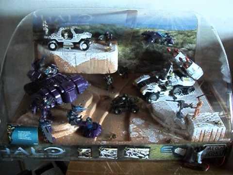 Halo Mega Bloks Display
