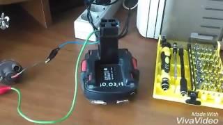 Контролер зарядки акумулятора 20 ампер на шуруповерт!