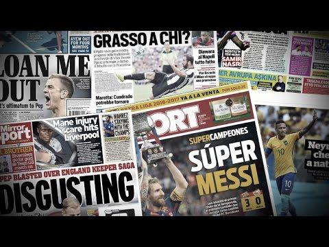 Messi, Neymar, Guardiola, Higuain, Lass Diarra... La revue de presse !