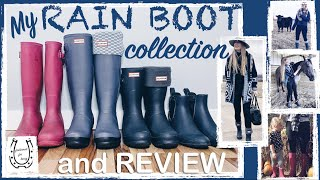 rain boot collection and review
