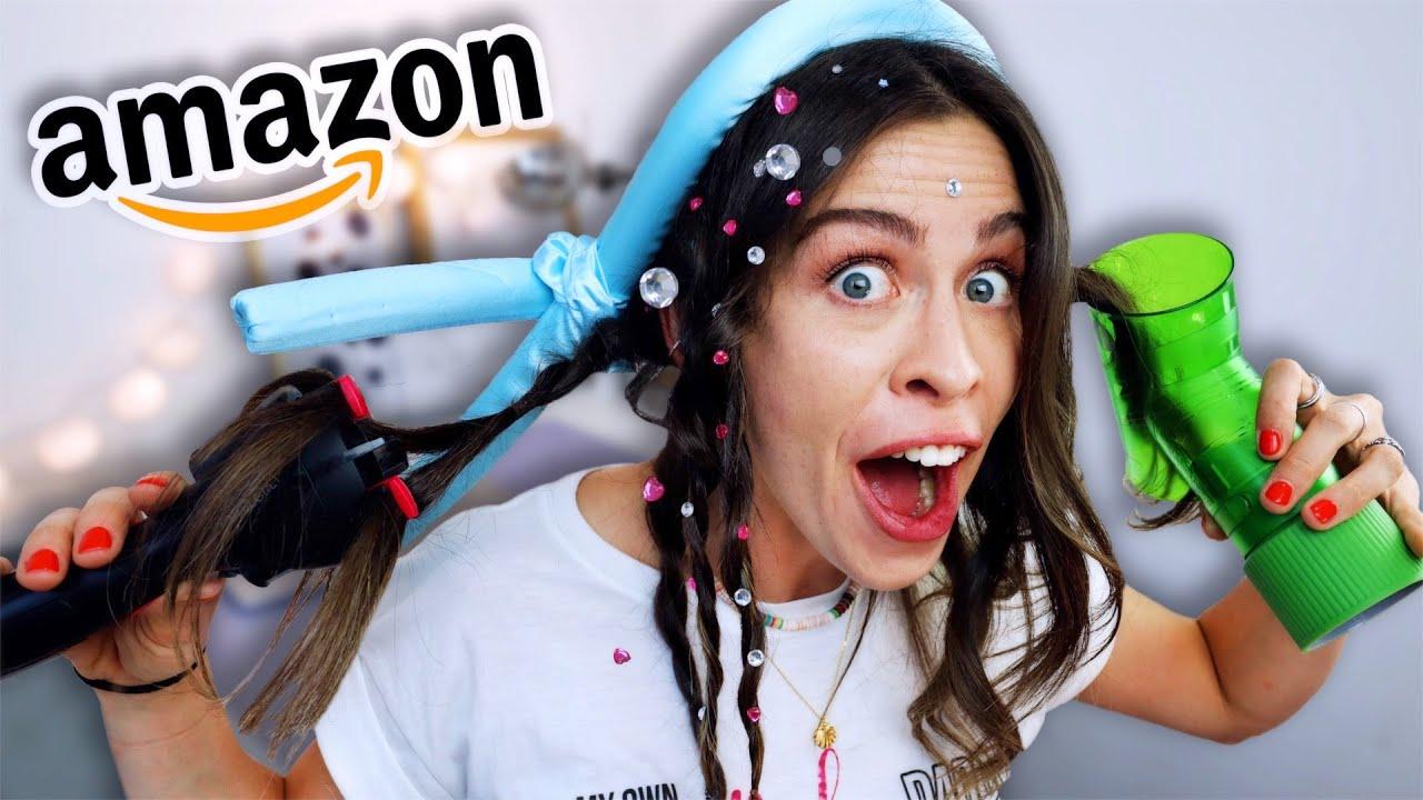 Werbung vs Realität: Virale HAAR STYLER für FAULE von Amazon!