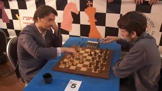 Alexander Morozevich vs Grigoriy Oparin - Moscow Chess Blitz 2015