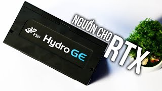 FSP Hydro GE650 - Bộ Nguồn Tiêu Chuẩn Để Chạy Cùng VGA RTX! | HANOICOMPUTER