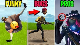 Giant Glitch Lets Pro CRUSH Noobs! FUNNY vs BUGS vs PROS - Fortnite Funny Moments