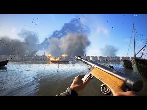 ¿LA MEJOR ARMA DE MÉDICO? 50 BALAS POR CARGADOR - BATTLEFIELD V GAMEPLAY ESPAÑOL   Winghaven thumbnail