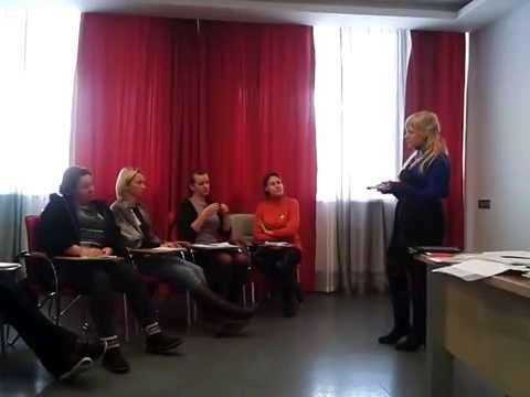 Тренинг для женщин *Коды Женской Сущности*НЛП...(фрагмент Техника *Расшифровка реальностей полов*)