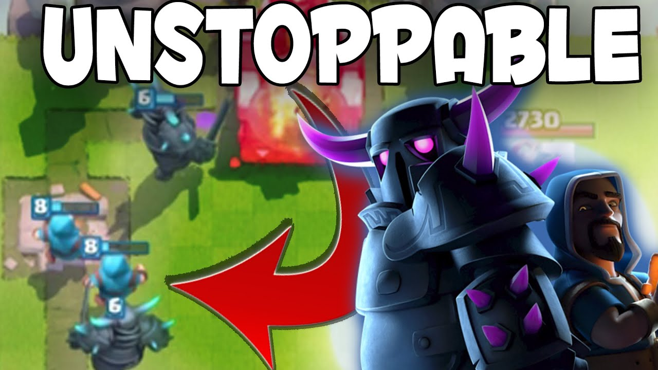 Clash Royale Amazing Pekka Deck Near Unstoppable