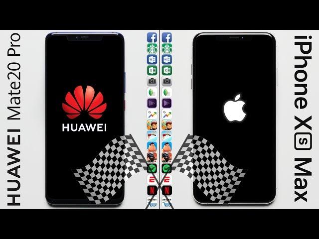 Huawei Mate 20 Pro Vs iPhone XS Max: Huawei Loses Speed Test Despite