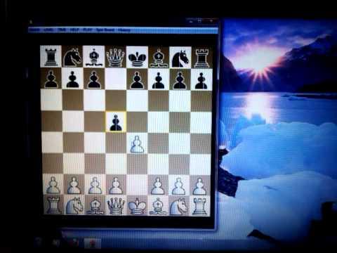 Šahovsko otvaranje koje se zove  SKANDINAVSKA odbrana - NN vs KRUEGER -  #85 sah i mat
