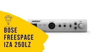 обзор BOSE FREESPACE IZA 250 LZ - стерео микшер-усилитель