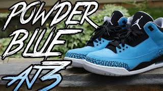 Powder Blue 3s
